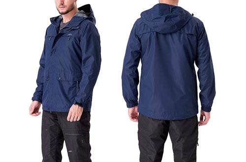 Trailside Supply Men'sWeatherproof Fleece-Lined Hooded Ski Jackets