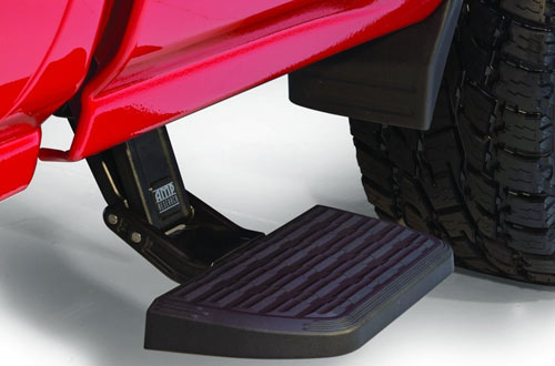 AMP Research 75407-01A Retractable Truck Bed Side Step