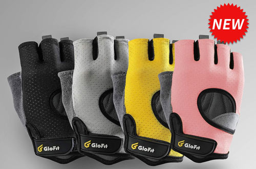 Fingerless Workout Gloves for Powerlifting & Gym