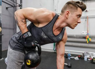 Scott 2019 Evo 2 Men's Weightlifting Gloves withWrist Wrap Support & Double Stitching