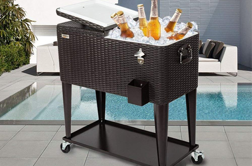 Top 10 Best Portable Outdoor Rolling Cooler Carts on Wheels Reviews 2