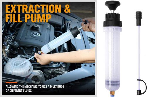 Fluid Evacuators AEagle 6.5L Pneumatic/Manual Oil Extractor Pump ...