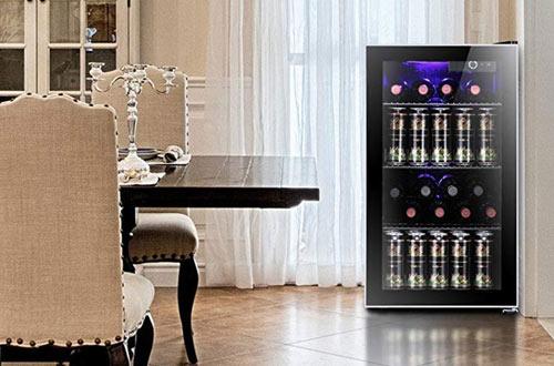 Antarctic StarSmall Mini Red & White Wine Fridge -26 Bottle Wine Coolers