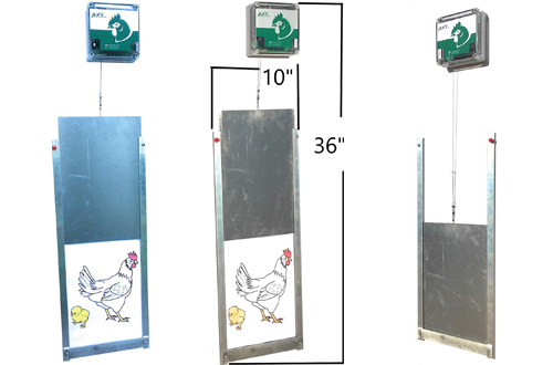 Cheeper Keeper Automatic Chicken Coop Door Opener & Closer Kit