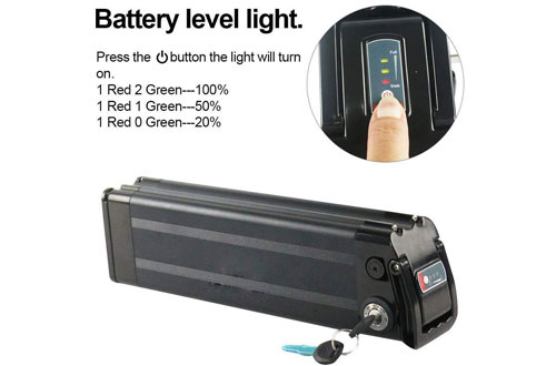 Lithium-ion Electric Bike Batteries with BMS Protection Board