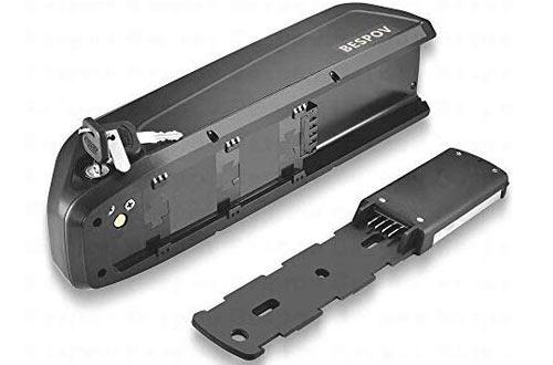 Bespov 36V 10Ah Lithium Li-ion Electric Bike Batteries for 250W-500W Motor