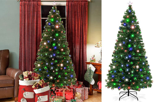 Top 10 Best Floor & Tabletop Fiber Optic Christmas Trees Reviews In 2019 2