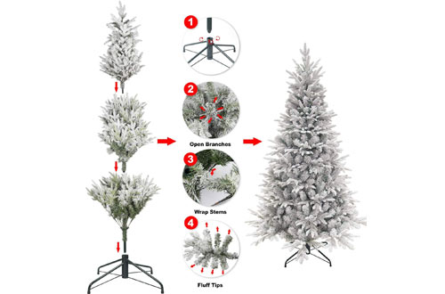 Ki Store Fiber Optics Christmas Trees