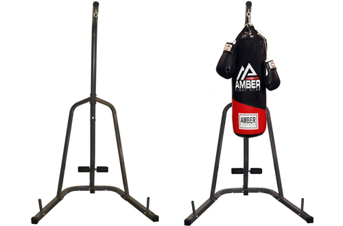 THE CHAMP Single-Station Heavy Bag Stand for Home, Apartment, Fitness, Small Gyms and Other