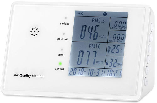 YVELINES  Air Quality Monitors - Professional Multifunctional Air Detector