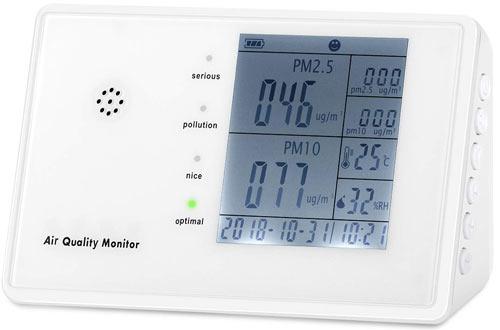 YVELINESAir Quality Monitors -Professional Multifunctional Air Detector