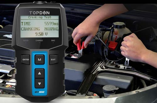 TT TOPDON 12V Car Battery Testers