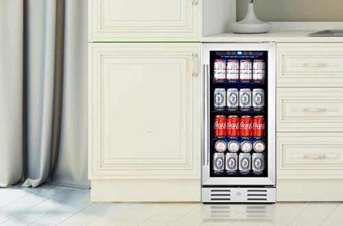 Built-inBeverage Cooler with Glass Door