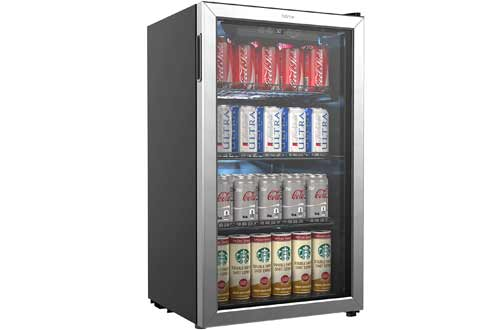 hOmeLabs 120 Can Drink Refrigerator and Cooler
