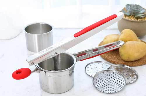 Rorence Stainless Steel Potato Ricers with Handle