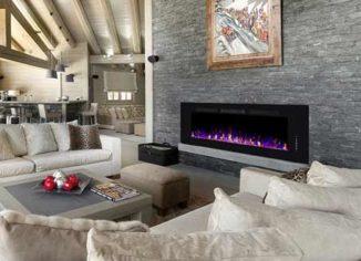 Xbeauty Wall Mounted Electric Fireplace