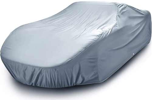 iCarCover Waterproof Custom Car Snow Cover