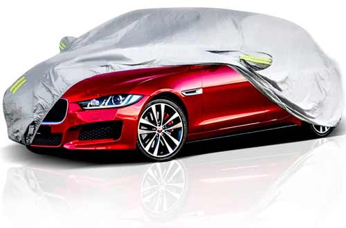 ELUTO Outdoor Custom Car Covers for Scratch Resistant & UV Protection