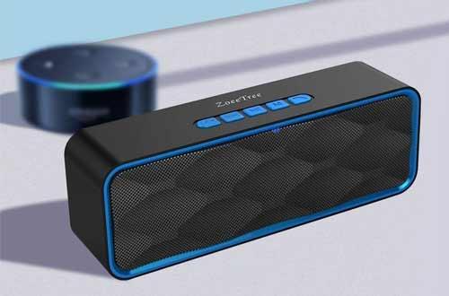 ZoeeTree S1Portable Wireless Stereo Speakers