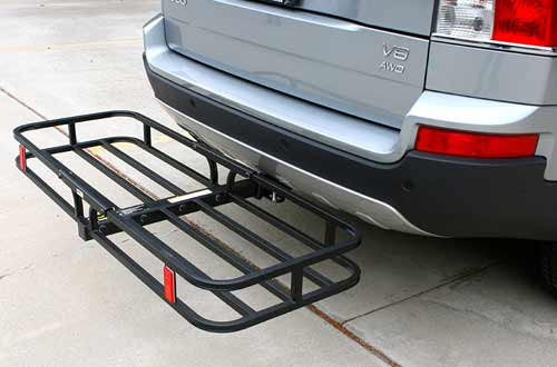 MaxxHaul  500 lb. Hitch Mounted Cargo Carrier for Hitch Receiver