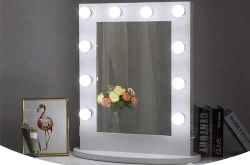 Best Lighted Vanity Mirrors Makeup, Silhouette Led Vanity Mirror Reviews