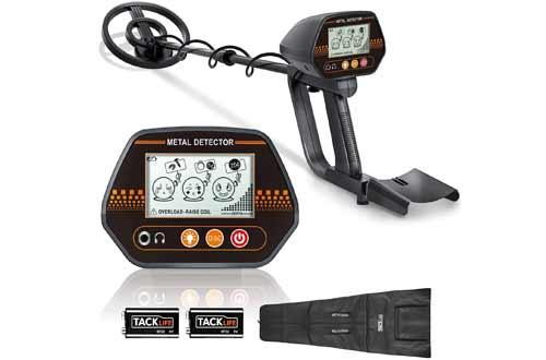 TACKLIFE Waterproof Metal Detectors for Kids and Adults