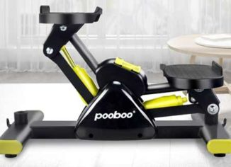 L NOW Adjustable Mini Stair StepperMachine