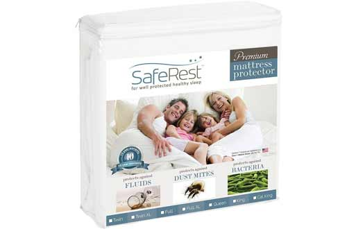 SafeRest Queen Size Waterproof Mattress Protector